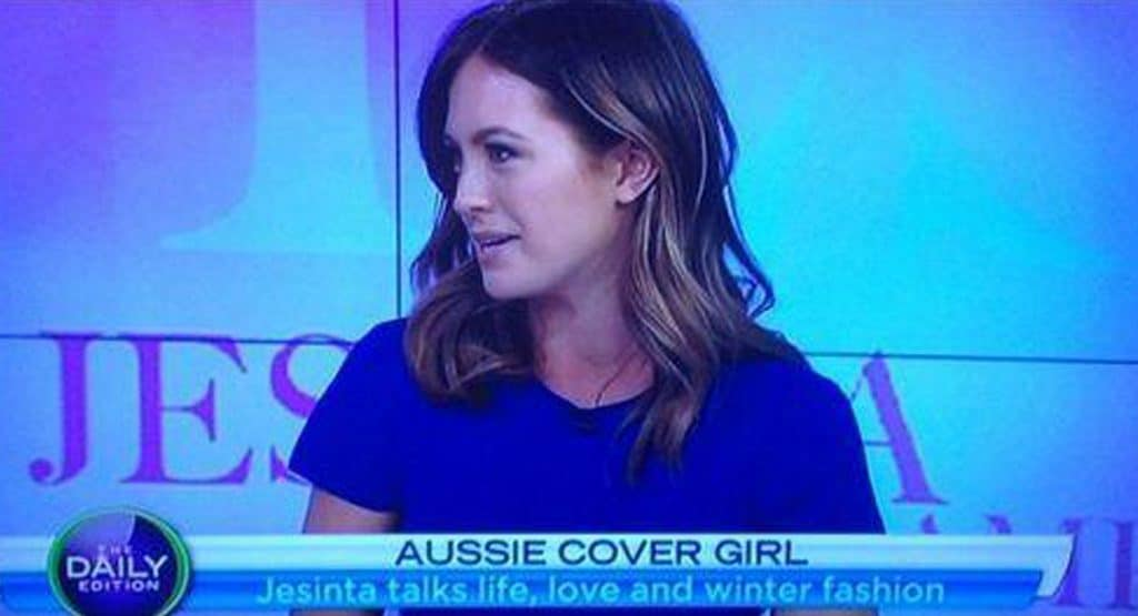 The Daily Edition Jesinta talks Life, Love and Winter Fashion.